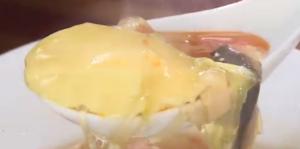 中華風茶碗蒸しと春雨スープ