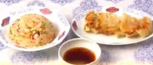 男子ごはん海鮮チャーハン&餃子