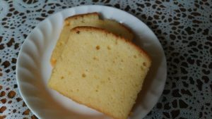 基本のパウンドケーキ切り口
